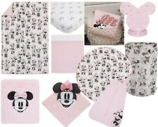 Disney Minnie Mouse 10 Piece Nursery Crib Bedding Bundle , Classic See Details
