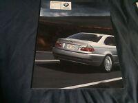 2006 BMW 325i 325ix 335i 3 Series Coupe Brochure USA Market Prospekt
