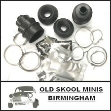 CLASSIC MINI CV JOINT RUBBER BOOTS KIT INNER & OUTER DISC DRUM GAITERS ROVER 5S7
