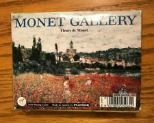 Monet Gallery Vintage Boxed Playing Cards Bridge Set-2 Packs Cards-SHIPS FREE