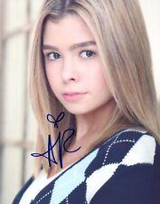 Addison Riecke Signed Autographed 8x10 Photo Actress COA