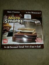Micro S'mores Cooker As Seen On TV Microwave S'mores Maker