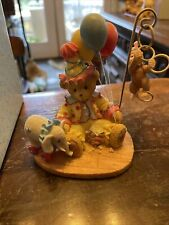"Cherished Teddies ""ELISSA"" #120009 / Clown & Monkey (HB3) w/ Box & COA"
