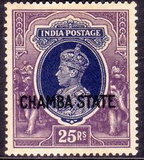 1938 INDIA CHAMBA SG 99 25r MH CV £350