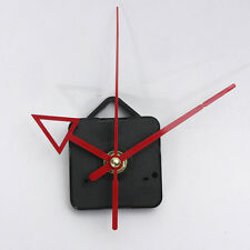 NEW DIY Red Hands Quartz Clock Wall Movement Mechanism Repair Tools