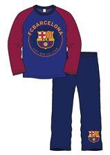 Niños FC Barcelona Fútbol Pijamas Set Top y Pantalones Edad 4-5 Años BNWT