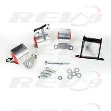 96-00 CIVIC EK EM1 EK9 B&D SERIES CNC BILLET PERFORMANCE ENGINE MOTOR MOUNT KIT