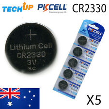 X5 Genuine PKCELL CR2330 v3 lithium Button Cell Coin Batteries Fresh Stock Melb