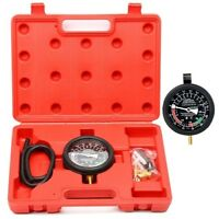 Automotive Caburetor Fuel Pump Vacuum Valve Diagnose Tester Gauge Tool