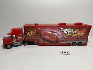 Disney Pixar Mattel - Cars Movie Mack Truck Car Wash - #3