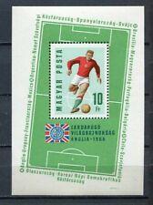 32443) HUNGARY 1966 MNH** WC Soccer S/S Scott# 1771