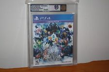 World of Final Fantasy: Limited Edition (PS4) NEW SEALED GEM MINT GOLD VGA 95!