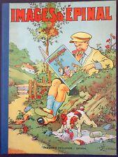 "Pellerin ""Images D'Epinal"" hardcover folio w/ folktales(Fr text)+ lithosINV1551B"