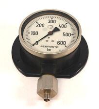 Elektrische en testapparatuur Manometer Edelstahl NG63 Glyzerin für Schalttafeleinbau