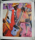 """Rare """"Up All Night"""" Signed and Limited Edition Terry & Jerry Lynn Twin Art Print"""