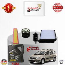 Mantenimiento Filtros + Aceite Dacia Logan 1.2 16V 55KW 75CV de 2009- >