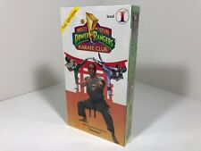 Mighty Morphin Power Rangers Karate Club - The Official - Level 1 - Rare - Tommy