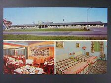 Panorama Motor Hotel Motel Ste Anne De Beaupre Quebec Canada Postcard 1960s Vtg