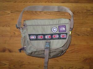 Vintage The North Face Trans Antarctica 1990 Shoulder Messenger Bag Tan Supreme