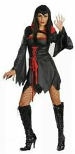 Sexy Ladies Halloween Costume Vampire Witch Fancy Dress Outfit One Size  NEW