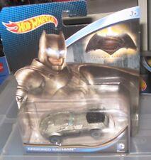 DC UNIVERSE COMICS COLLECTOR HOT WHEELS CAR ARMORED BATMAN DAWN OF JUSTICE