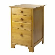 Winsome Wood 99428 Studio Filing File Cabinet
