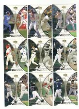 2000 UD UPPERDECK HITTER'S CLUB GENERATIONS OF EXCELLENCE SET 1-10 AROD GRIFFEY