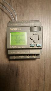 Kleinsteuerung SIEMENS LOGO! 12/24RC - 6ED1052-1MD00-0BA4