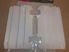 White Yamaha Radiator Guards Grill YZ125 YZ250 YZ 125 250 02-16 250F WR250F WR