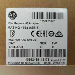 Brand New Original AB 1794-ASB SER E 8 I/O 24V FLEX Remote I/O RIO Adapter