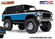 bleu couleur Traxxas trx-4 BRONCO peau corps Enveloppe STICKER TRX4 ultradecals