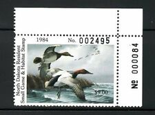 ND3   1984   North Dakota  PNS   State Duck Stamp       DSS