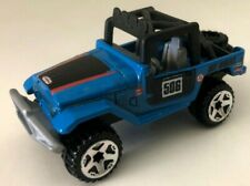 2010 Hot Wheels New Models Toyota Land Cruiser FJ40 Blue Loose Die-Cast Car