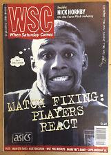 When Saturday Comes Football Fanzine Issue No103 WSC September 1995