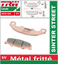 Plaquettes Frein Avant TRW MCB586SV SINTER Kawasaki GPZ 400 R 89- / KR-1 250 88