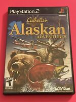 🔥 SONY PS2 PlayStation Two 💯 COMPLETE WORKING GAME CABELA'S ALASKAN ADVENTURES