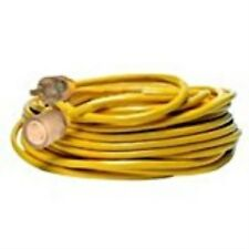 Yellow Jacket 2992 20-Amp Generator Cord with T-Blade 5-20 Lighted Ends,100-Feet
