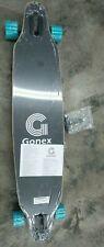 Gonex 42 inch Longboard Skateboard, Complete 9 Ply Blue Stripes