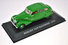 Voiture modèle réduit collection 1/43ème Berliet 11CV Dauphine de 1939