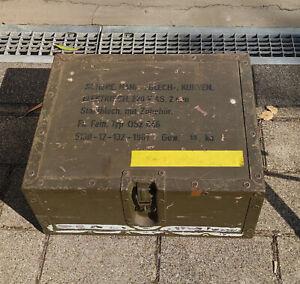 BW Bundeswehr Kiste Werkzeugkiste