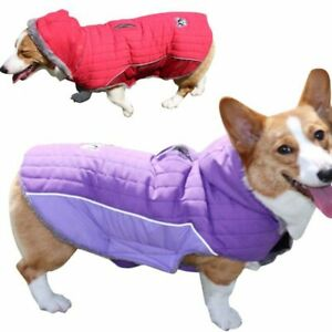 Winter Dog Hoodie Big Dog Jacket Coat Golden Husky Windbreaker Pet Fleece Vest
