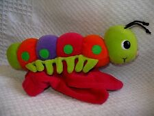 PLUSH CREATIONS HAND/GLOVE STYLE CATERPILLAR PUPPET 1999