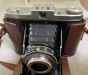 Zeiss Ikon Nettar Novar-Anastigmat 6.3 75mm Folding Camera Accordion Estate Find