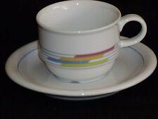 Thomas Trend,Candy Linien,NEU,Kaffeetasse,Untertasse,Tasse weiß,Porzellan