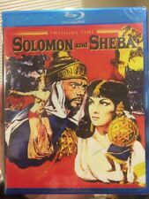 SOLOMON AND SHEBA Blu Ray Brand New Factory Sealed Limited Edition Yul Brynner !