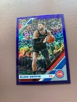 2019-20 Panini - Donruss Optic Basketball: Blake Griffin Blue
