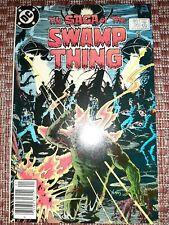 Saga of The Swamp Thing #20 Newsstand Cover 1st Alan Moore Nm Cgc It!
