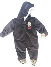 Just One You Carters 6 Months Brown Bear Hugs Snowsuit...