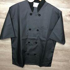Happy Chef Womens Xs Signature 3/4 Sleeve Lightweight Chef Coat New