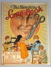 "The Sunshine Scrap-Book -  Form a ""Sunshine Club"" Hullco Toys c1910s"